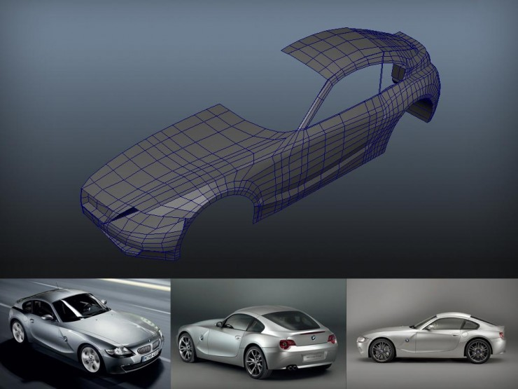 BMW_Z4_HA_01_modeling