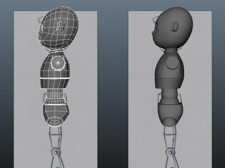 robietherobot_HA07_modeling