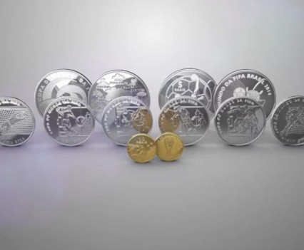 Commemorative Coins 2014 FIFA World Cup Brazil