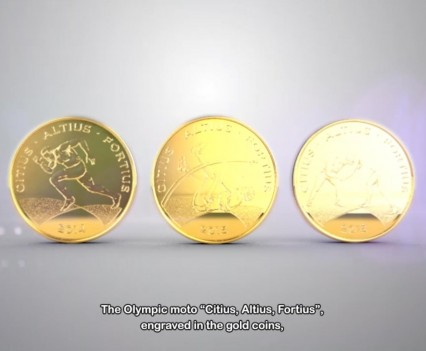 Commemorative Coins Olympic Games Rio 2016