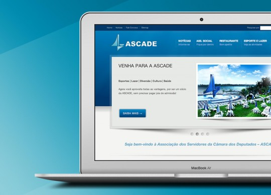 ASCADE – Association website