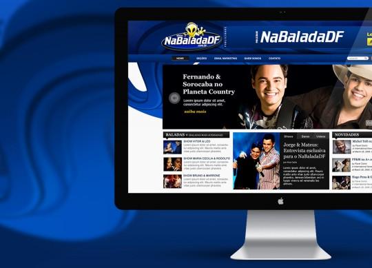 NaBaladaDF – Website